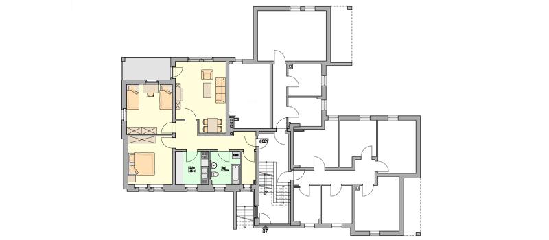 Floor plans, lageplan, 3d arhitecture